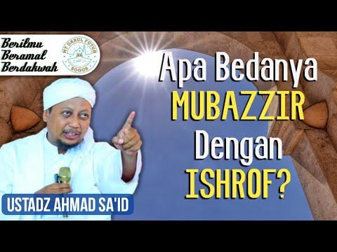 Ada yang lebih parah dari Mubazzir … yaitu Ishrof